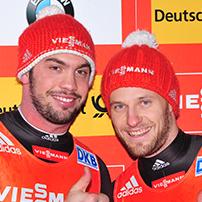 Viessmann -  Rennrodel - Weltcup 2015 - Doppelsitzer