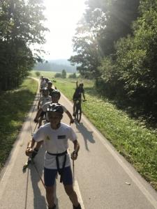 Auf dem Radweg nach Tarvisio