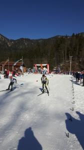 Luca Puchinger kurz nach dem Start