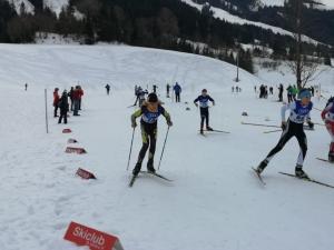Luca Puchinger beim Staffelrennen