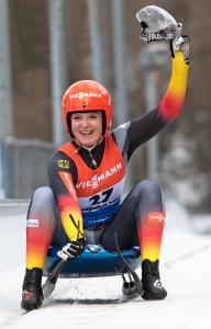 Sport-Gala - Anna Berreiter Ziel-Jubel - bit